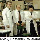 dr. Lars I. Qvick, dr. Antonio Vito Costantini, dr. Heinrich Wieland
