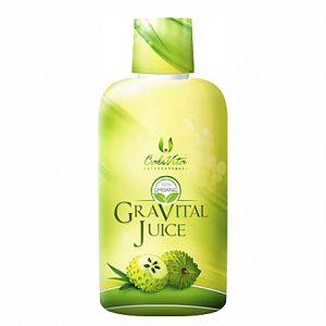 Gravital Juice – 100% organski sok iz graviole i Aloe vere (946 ml)