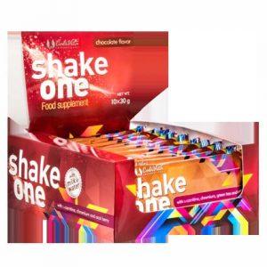 Shake One čokolada – proteinski prah za nadopunu prehrane tijekom dijete za mršavljenje (10 x 30) g