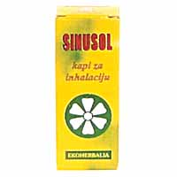 SINUSOL biljne kapi za inhalaciju – 10 mL