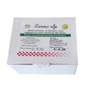 Laneno ulje – 12 x 20 mL (240 mL)