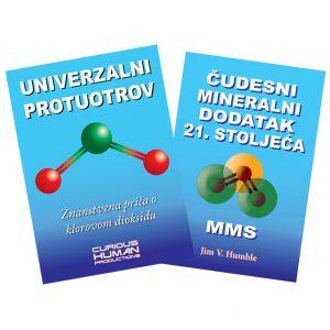 Univerzalni protuotrov i Čudesni mineralni dodatak – dvije knjige